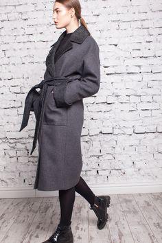374eedd726e Женское демисезонное пальто Англия из итальянского кашемира - Танго