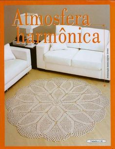 Crochet and arts: Very beautiful crocheted mats