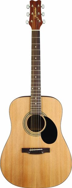 Amazon.com: Jasmine S35 Acoustic Guitar, Natural: Musical Instruments