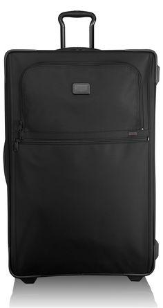 9e07c353b6ba5 Luggage Tumi Alpha 2 Collection 22047 Wheeled Expandable Worldwide Trip  Packing Case Black