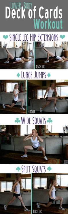 Vaulter Fit | Lower Body Deck of Cards Workout