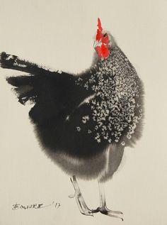 "Saatchi Art Artist Endre Penovác; Painting, ""Aloof"" #art"