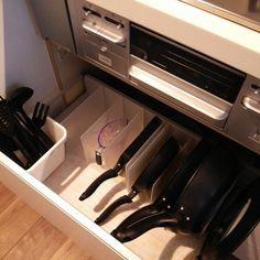 無印の隠れた人気商品「スチロール仕切りスタンド」。これが本当に便利で家中で使えちゃうんです!!皆さんのすごいアイデアを集めました♡