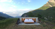 Το μοναδικό ξενοδοχείο στον κόσμο χωρίς...τοίχους