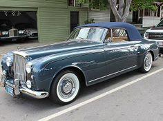 1958 Bentley Drop Head Coupe Bentley Continental Gt Cabrio, Mini Cooper S Cabrio, Jeep Carros, Dream Cars, Vintage Cars, Antique Cars, Royce Car, Bentley Rolls Royce, Bentley Car