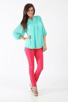 The Kimberly Blouse $39.00