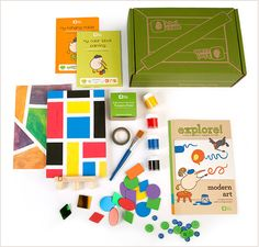 Sweet back to school giveaway from Kiwi Crate and Minted for kids