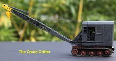 Scale Model Animation 3 – Teaching The Crane Critter How to Crawl | Model Railroad Hobbyist magazine | Having fun with model trains | Instant access to model railway resources without barriers