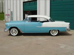 """1955 Chevrolet  Bel-Air My Dad's Car. """"If only I knew then what I know now!"""""""