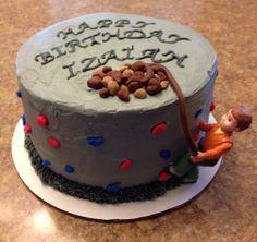 Rock climbing cake