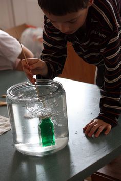weather experiments- convection currents, heat rising, etc