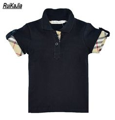 New Summer 1-7Y Baby Children Boys Striped T-shirts Kids Tops Sports Tee Polo Shirts. Department Name: ChildrenItem Type: TopsTops Type: TeesBrand Name: RuiKaJiaStyle: ActiveGender: BoysSleeve Length(cm): ShortMaterial: CottonFabric Type: Worsted