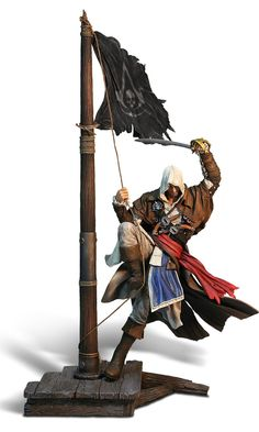Assassin's Creed Figurine: Edward Kenway: Master of the Seas (Electronic Games/PS4/Xbox One/PS3/Xbox 360): Amazon.co.uk: PC & Video Games