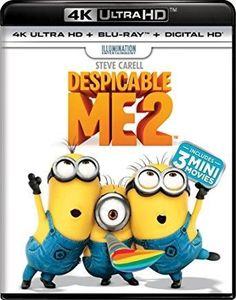 Steve Carell & Kristen Wiig & Chris Renaud & Pierre Coffin-Despicable Me 2