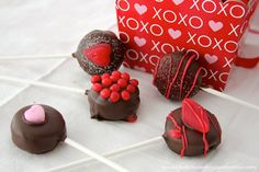 Whats Cooking With Ruthie | Valentine (no bake) Cookie Pops…