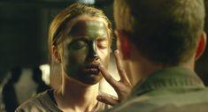 FacePaint Scene-from movie-Les combattants