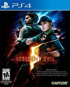 Ahora disponible (PS4) Resident Evil 5 nuevo sellado.