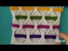 Renkli Kemerler Örgü Modeli - YouTube
