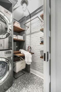 43 Best Modern Farmhouse Laundry Room Decor Ideas