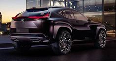 Lexus UX Concept 'Leaked', Previews Upcoming Audi Q2 Rival #Concepts #Hybrids