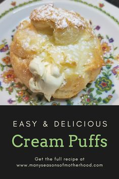 These cream puffs are amazing!