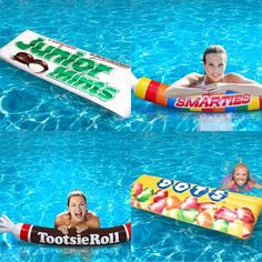 Candy Pool Floats - $26