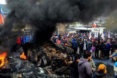 Chile: Pescadores mantienen bloqueos en Chiloé sin solución a la vista