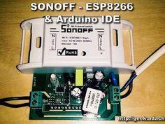 SONOFF - ESP8266 Update Firmware With Arduino IDE - Hackster.io