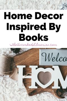 Are you looking to decorate your home?  Did you know that your favorite books are hiding some of the most popular home decor trends?  Get ready to spruce up your home with these literary decor ideas. #theuncorkedlibrarian Book Challenge, Reading Challenge, Best Books To Read, Good Books, Book Club Books, Book Lists, Home Library Design, Psychology Books, Book Of Life