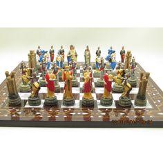 Satranç takimi - bizans ve roma askerleri ( a ) ürünü, özellikleri ve en uygun fiyatların11.com'da! Satranç takimi - bizans ve roma askerleri ( a ), satranç kategorisinde! 49475353