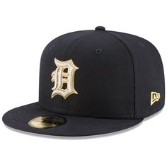 Detroit Tigers New Era Finest 59FIFTY Fitted Hat - Navy - $34.99