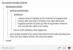 Canada as England-France love child