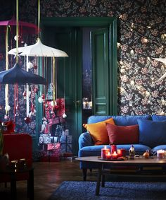 IKEA Holiday Catalog - Winter Christmas Decor   Looking to deck your halls for not too much dough? Ikea's 2016 Holiday collection has you covered. #refinery29 http://www.refinery29.com/2016/11/128418/ikea-holiday-catalog-2016