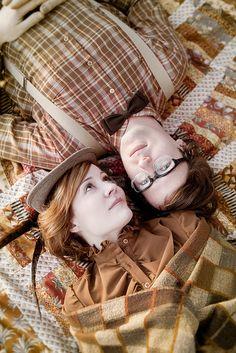 Picnic Blanket - Engagement Shoot by dburka, via Flickr