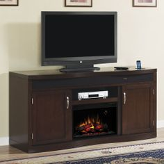 Electric Fireplace Tv Stand With Fridge Organize In 2019
