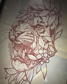 Lessons That Will Get You In The arms of The Man You love Tiger Tattoo Design, Tattoo Design Drawings, Tattoo Sketches, Tattoo Designs, Wolf Tatoo, Lion Tattoo, Future Tattoos, Tattoos For Guys, Tiger Sketch