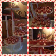 Cupcakes 40 jaar