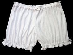 Womens Bloomers White w/ Bows Sizes XS-2X by NemethWild on Etsy