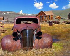 Ghost Town | Dave's Travel Corner - Central California Photographs