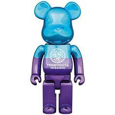 F/S Medicom Toy BE@RBRICK 400% XLARGE x TENMYOUYA HISASHI x Bearbrick LTD Figure #MEDICOMTOY