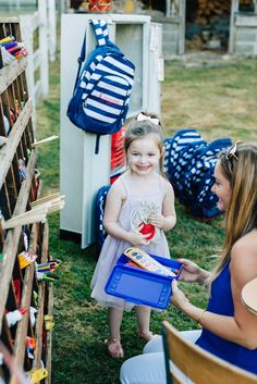 How to Host a Back to School Party on Kara's Party Ideas | KarasPartyIdeas.com…