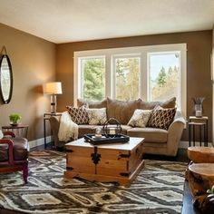Updated Traditional - traditional - living room - portland - Brock Designs