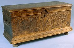 1650 French-Canadian Chest at the Canadian Museum of Civilization, Gatineau