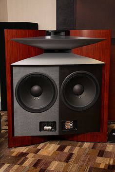 ARTISAN SILVER CABLES - Hi-fi News 2014 Show Report   JBL  Project Everest DD66000 speakers.