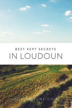 Loudoun County is filled with magical little secrets and special places that only locals may know about. Here are a few of what we believe are Loudoun's best kept secrets! Have you been to an…