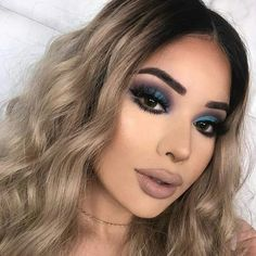 Make up ♡♡ Glam Makeup, Baddie Makeup, Cute Makeup, Gorgeous Makeup, Pretty Makeup, Skin Makeup, Makeup Inspo, Eyeshadow Makeup, Makeup Inspiration