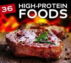 36 Low Carb & High Protein Foods
