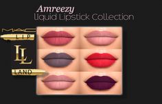 Amreezy's Liquid Lipstick Collection by MAC **Many of you may or may not know…