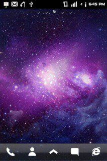 Download Free Space Purple Cute Android Theme Mobile Theme Htc Mobile Theme Downloads Hundreds Of
