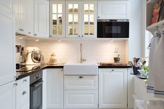 Una gran cocina en un piso de 43 m² - Blog decoración estilo nórdico - delikatissen